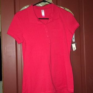 NWT no boundaries size 7/9 pocket polo ladies